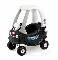 Cozy Coupe Tikes Patrol Ride On Include Removable Floor & Handle On Back Black