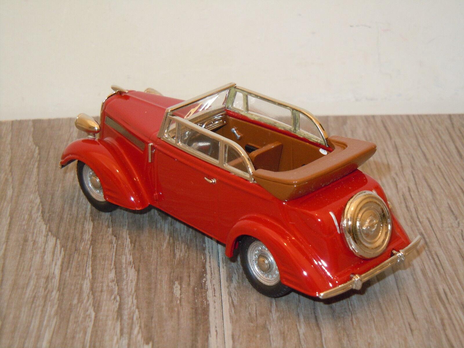 Opel Super 6 6 6 Cabriolet van Tin Wizard 3101 1 43 in scatola 10701 ac3117