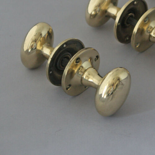 Original 1940s Oval Door Knobs