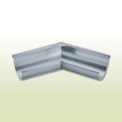 LiebenswüRdig Titanzink Rinnenaußenwinkel Halbrund Rg333-135 Grad Fürs Dach Heimwerker