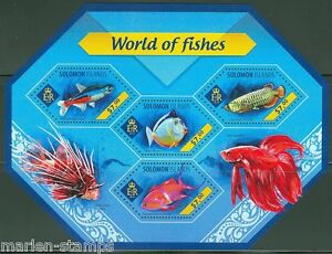 SOLOMON-ISLANDS-2014-WORLD-OF-FISHES-SHEET-MINT-NH