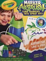 Crayola Marker Airbrush Turn Markers Into Spray Art Kids Gift