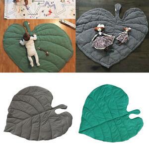 Baby-Children-Game-Gym-Activity-Play-Mat-Crawling-Blanket-Leaf-Floor-Rug