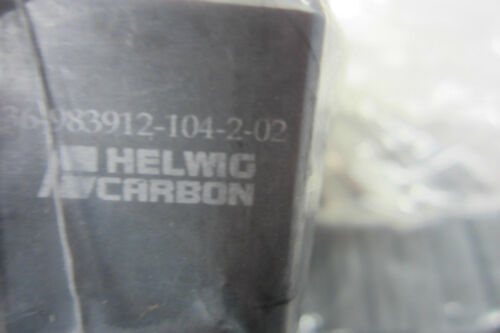 18 NEW HELWIG CARBON 36983912104202 CARBON BRUSH 36983912104202