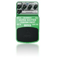 Behringer US600 Ultra Shifter / Harmonising Pitch Shifting Effects Pedal