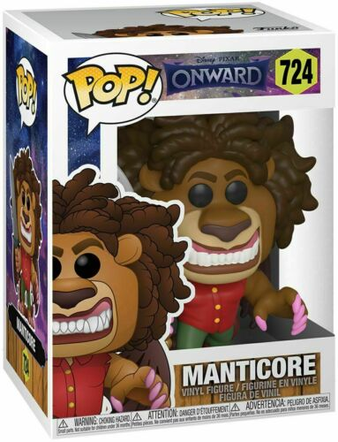 Funko Pop Movies Vinyl Figure Disney Onward-Manticore #724