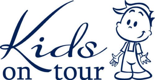 Auto pegatinas Baby Baby pegatinas del coche hechizo Kids On Tour chico