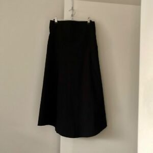 Witchery-Black-Maxi-Skirt-Size-8-stretch-relaxed-waist-fit-would-fit-Size-8-12