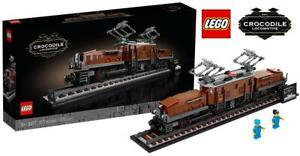 10277-LEGO-LOCOMOTIVA-COCCODRILLO-1271-PEZZI-18-ANNI-SIGILLATO-ORIGINALE