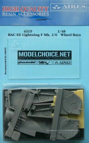 Aires 4318 1//48 BAC EE Lightning F Mk 2//6 Exhaust Nozzles For Airfix