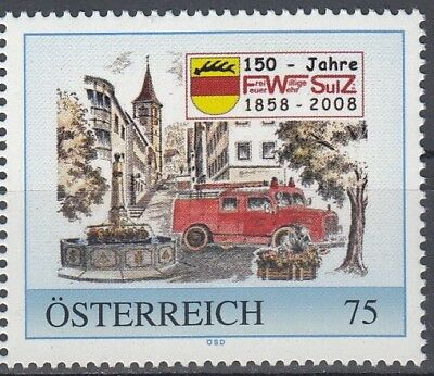 Enthusiastic Personalisierte Marke 8019915 Feuerwehr Sulz At All Costs Briefmarken