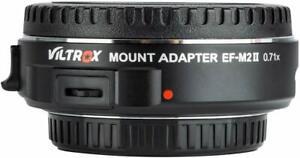 Viltrox-EF-M2-II-SpeedBooster-0-71x-Adapter-Canon-EF-to-M43-MFT-over-980-sold