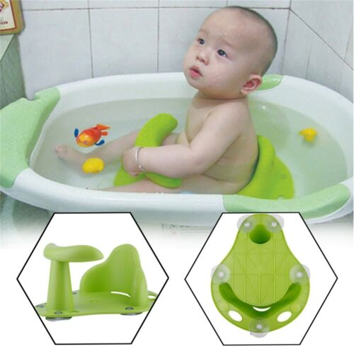 Baby Bath Tub Ring Seat Infant Child Toddler Kids Anti Slip Safety Chair NX