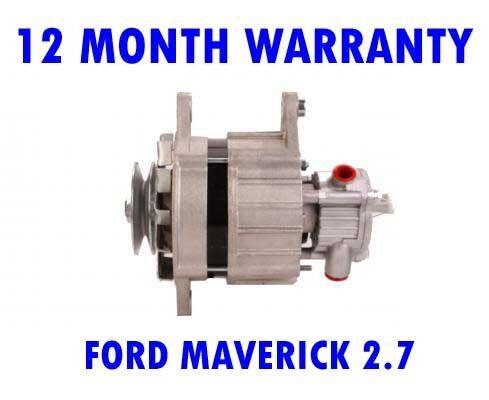 FORD MAVERICK 2.7 1993 1994 1995 1996 RMFD ALTERNATOR 12 MONTH WARRANTY
