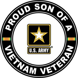 Proud-Son-of-a-US-Army-Vietnam-Veteran-5-5-034-Sticker-039-Officially-Licensed-039