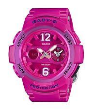 Casio Baby-G * BGA210-4B2 Dual Dial Pink Anadigi Watch MOM17 COD PayPal