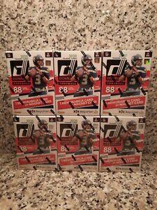 Lot-of-6-2020-NFL-Donruss-Football-Trading-Card-Blaster-Box-NEW-IN-HAND