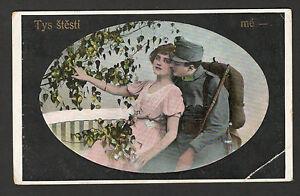 WWI-GERMANY-AUSTRIA-HUNGARY-FELDPOST-CENSORSHIP-POSTCARD-PROPAGANDA-BOKA-1916