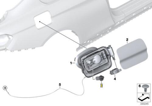 BMW Fuel Filler Door Flap Stop Buffer Ejector Spring 51177284741