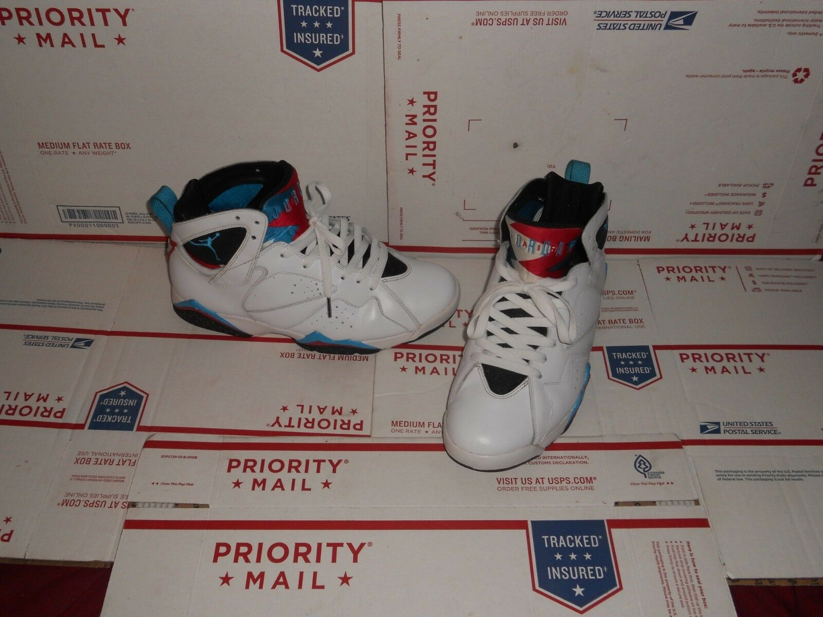 Nike Air Jordan VII 7 Retro 304775-105 Size 9.5 READ