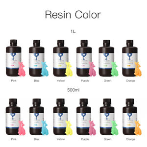 Details about Anycubic 500ml/1L UV Plant-based Sensitive Rapid Resin for  SLA Photon 3D Printer