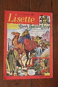 1957-Lisette-N-46-Magazine-jeunesse-BD-enfance-Enfantina-Journal-des-Filles-TBE