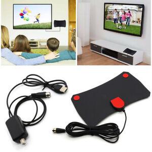 Freeview-HD-TV-Antenna-Digital-HDTV-Aerial-Amplified-200-Mile-Range-VHF-UHF-UK