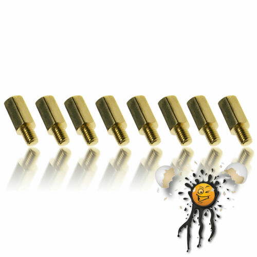 Mutter//Nut Metall 8-Teile PCB Abstandhalter Hexbolzen Standoff Brass M3 4-40mm