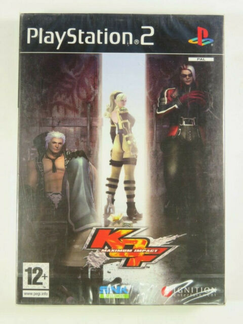 KING OF FIGHTERS MAXIMUM IMPACT PS2 PAL-FR NEUF/ NEW blister officiel