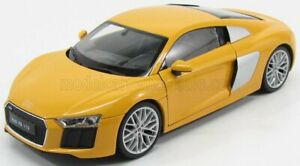 WELLY 1/18 AUDI | R8 V10 PLUS COUPE 2016 | YELLOW