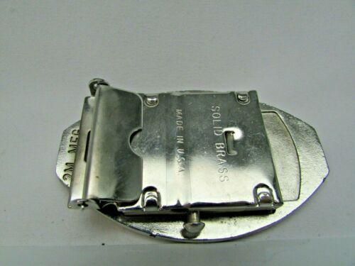 Choose Ship Vintage Brass Oval Navy Belt Buckles