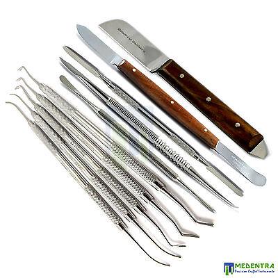 Laboratory Thomas Waxing Wax Carvers Kit Lab Technician Tools Plaster Knife Wax