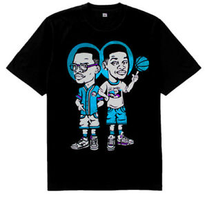 01661e66ea7d43 New 5 Fresh Prince of Bel Air Jazz shirt Black jordan 8 aqua air ...