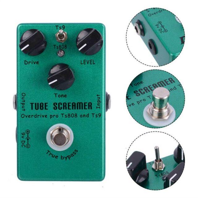 2 In 1 Overdrive Distortion Guitar Effect Pedal Tube Screamer Handmade Ts9 Ts808