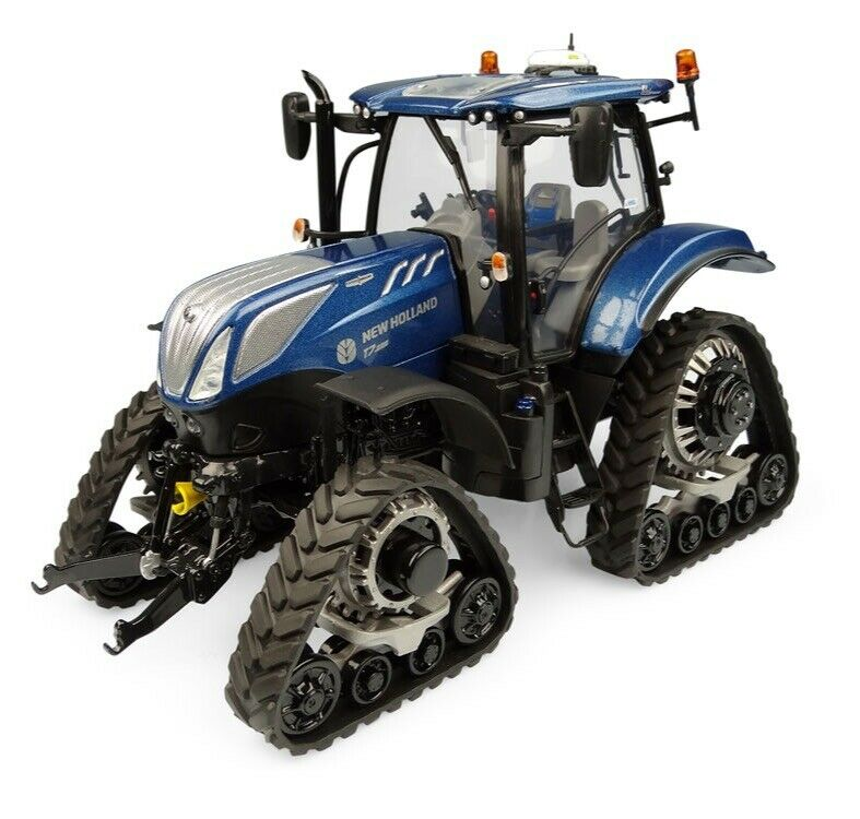 UH NEW HOLLAND T7.225 Blau POWER TRACTOR WITH TRACKS 1 32 SCALE