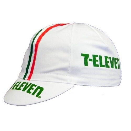 7 ELEVEN RETRO CYCLING BIKE CAP Vintage Fixed Gear Andy Hampsten