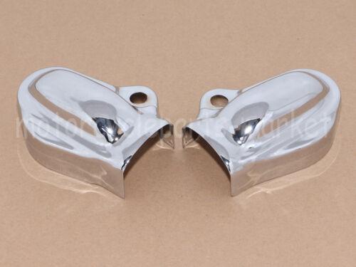 Chrome Bar/&Shield Rear Axle Covers For Harley VRSC V-Rod 2002-2017 Muscle VRSCF