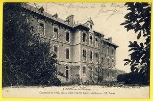 cpa-Vue-Rare-MACON-Saone-et-Loire-La-MATERNITE-construite-en-1900-Cout-113-000