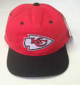 89564aff Details about NWT NFL Kansas City Chiefs Kids Grossman Velcroback Cap Mark  On Hat NEW!