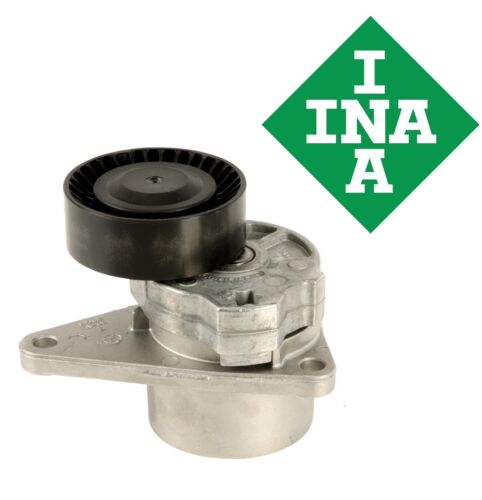 INA Serpentine Drive Belt Tensioner with Pulley For Volvo S70 V70 S80 C70 S40