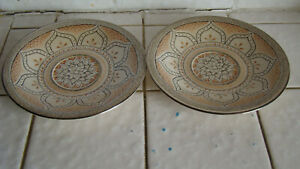 Shalimar-Masterpiece-China-by-Franciscan-Saucers-Lot-of-2-Excellent