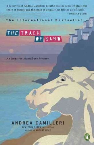 1 of 1 - The Track of Sand (Inspector Montalbano Mysteries)-ExLibrary