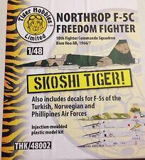 Thk48002 Northrop f-5c skoshi Tiger 1/48 Escala