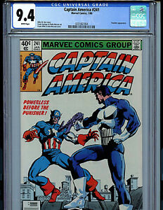 Captain-America-241-CGC-9-4-NM-Marvel-Comics-Punisher-K17