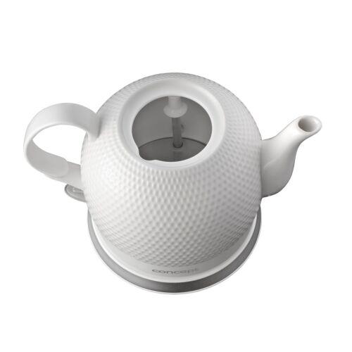 Bollitore elettrico  in ceramica 1000 W 1,2L colore bianco