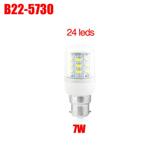 360° LED Maïs Ampoule E27 E14 B22 G9 GU10 5730 SMD Lamp Chaud 220V Blanc Froid
