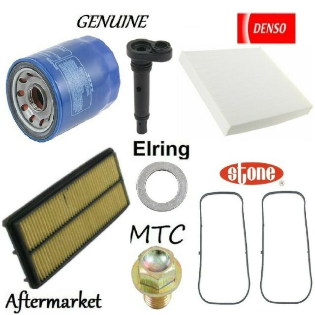 Tune Up Kit Cabin Air Oil Filters Gasket PCV Valve For