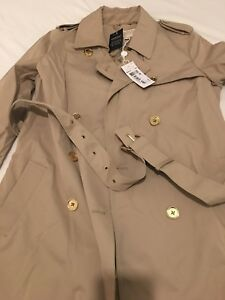 sleek how to orders rich and magnificent Details about MK Trench Coat