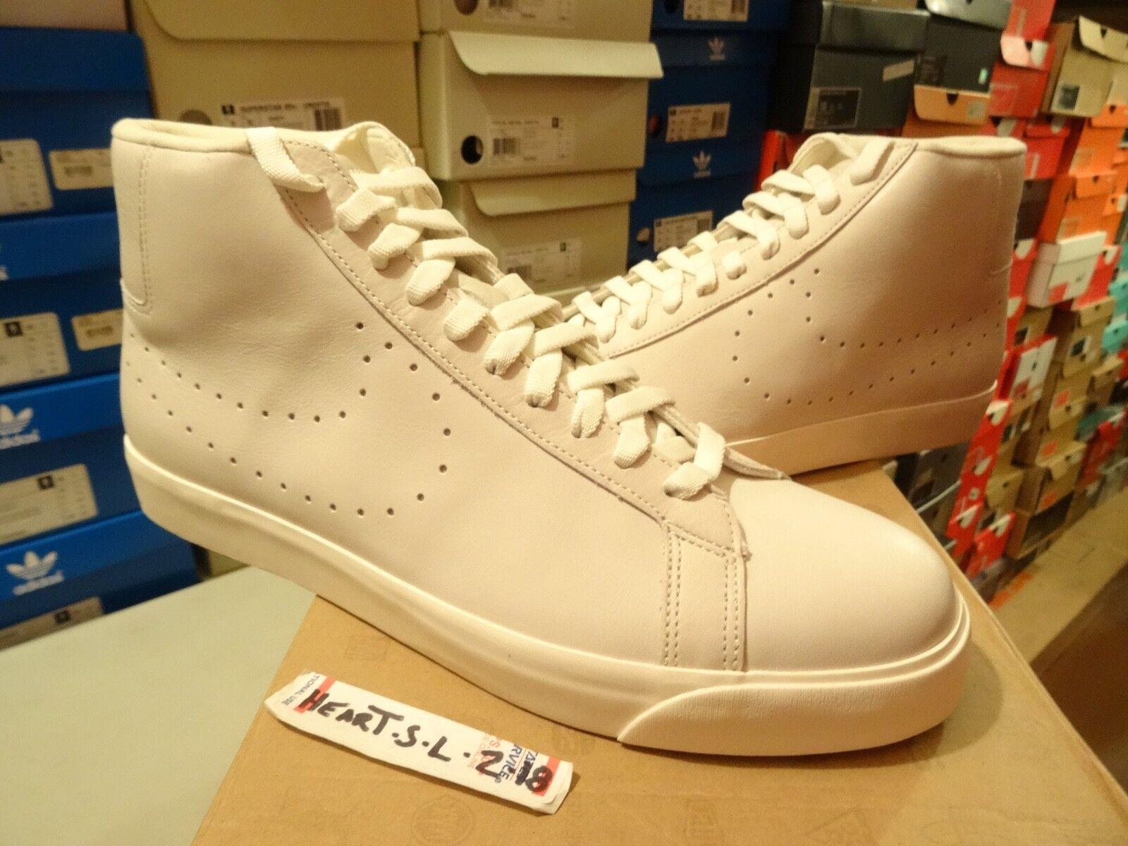 NEW NIKE SB Blazer Mid Supreme WHITE PERF TZ 380670 111 SZ 13 RARE DUNK NYC LOGO