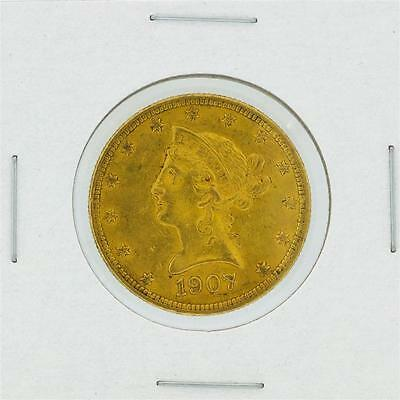 1907 $10 Liberty Head Eagle Gold Coin Lot 689